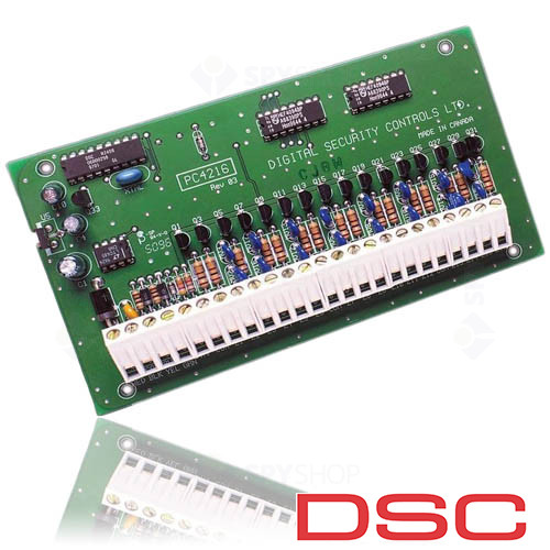 Modul de extensie DSC cu 16 iesiri PC 4216