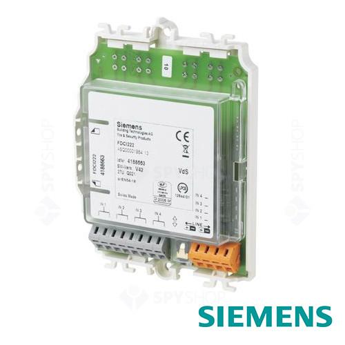 Modul de intrare cu 4 contacte Siemens FDCI222