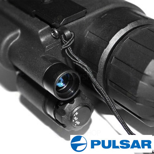 Monocular Night Vision Pulsar Scope Challenger GS 1x20 Head Mount Kit 74095