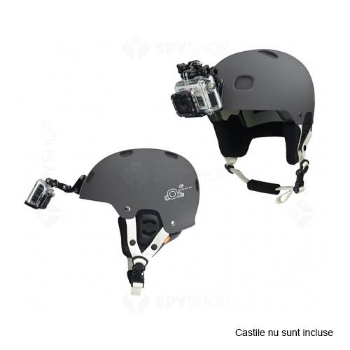 Monturi prindere pe casca pentru camerele Hero GoPro AHFMT-001
