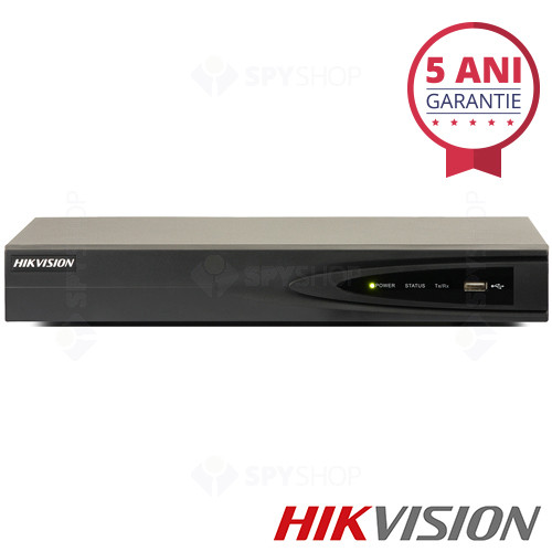 Network video recorder cu 4 canale si 4 POE Hikvision DS-7604NI-E1/4P/A