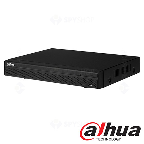 Network video recorder cu 8 canale Dahua NVR4108H-P 80 Mbs