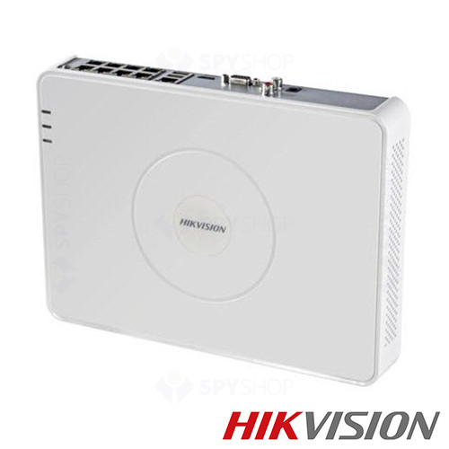 Network video recorder cu 8 canale Hikvision DS-7108NI-SN/P