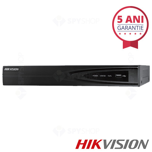 Network video recorder cu 8 canale Hikvision DS-7608NI-E1/A
