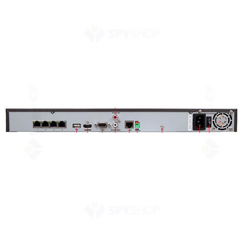 Network video recorder HIKVision cu 4 canale DS-7604NI-SE
