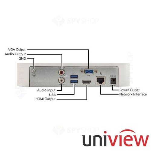 NETWORK VIDEO RECORDER UNIVIEW NVR201-04L