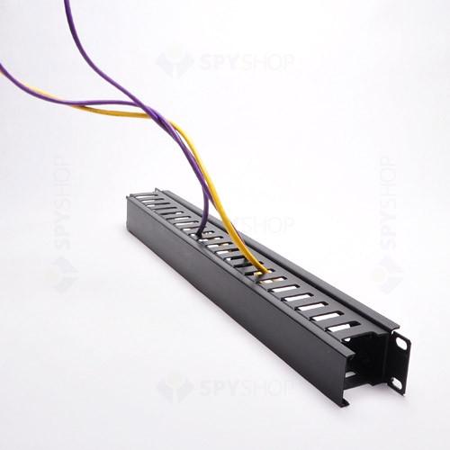 Organizator de cabluri racabil 1U CM