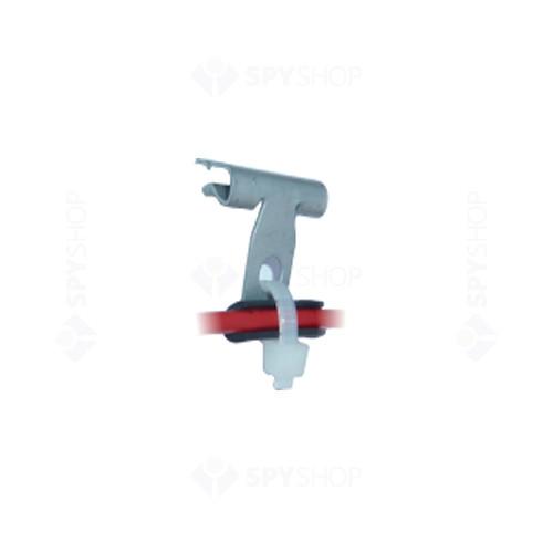 Pachet de 100 clipsuri cablu tip Edge Clip 8-14mm