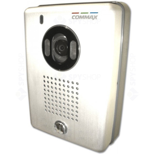 Videointerfon de exterior Commax DRC-40CS, 1 familie, aparent, 4 fire