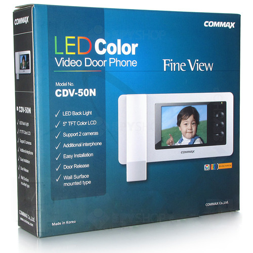 Videointerfon de interior Commax CDV-50N