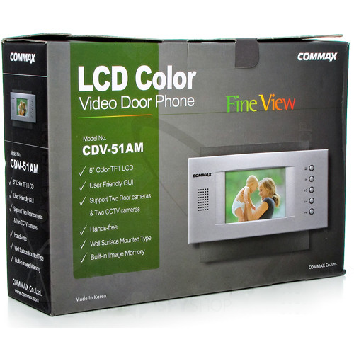 Videointerfon de interior Commax CDV-51AM