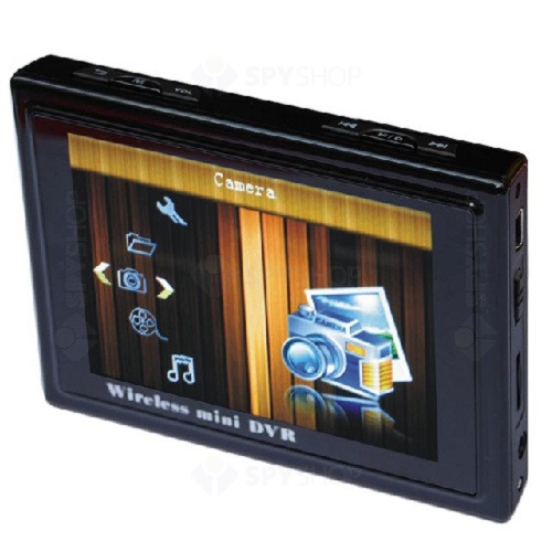 Mini DVR wireless cu ecran LCD de 3.5 inch