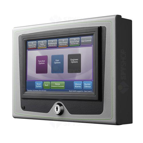 Repetor centrala de incendiu Kentec Taktis Vision TADEE0001000, LCD, IP30, aparent