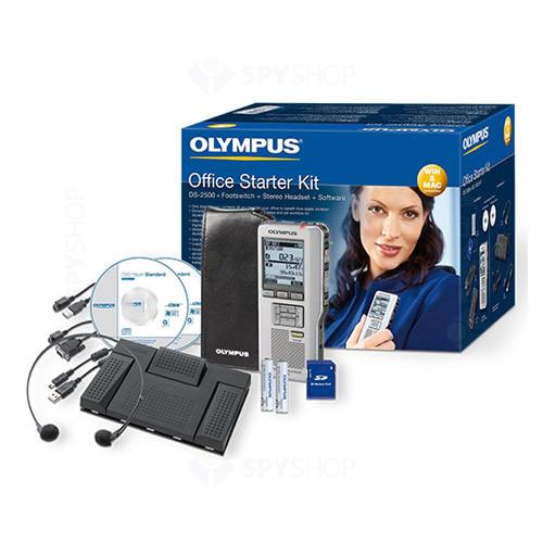 Reportofon digital Olympus DS-2500 + AS-2400 Office Starter Kit
