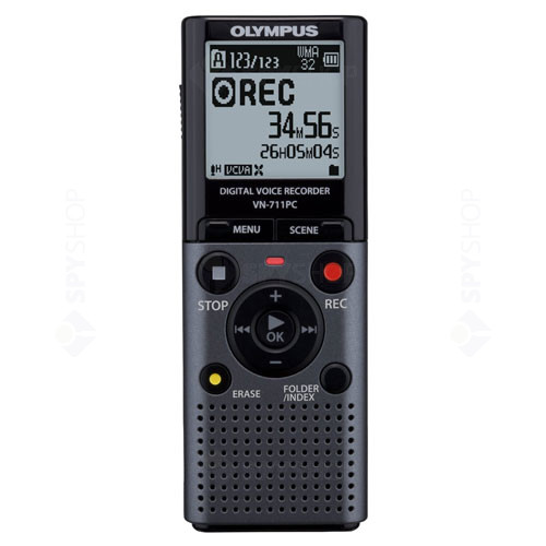 Reportofon digital Olympus VN-711PC + Telephone Pickup TP-7