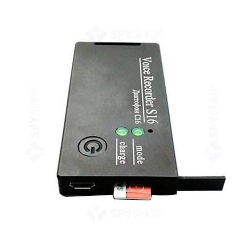 Reportofon digital profesional TSM SOROKA-16E, 9 m, detectie vocala, inregistrare 1122 h