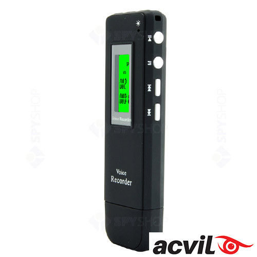 Reportofon digital 4GB Acvil cu activare vocala