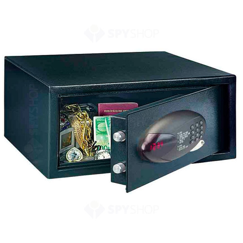 Seif antiefractie tip laptop cu cifru electronic Rottner Holytec T04035, 21 L, 11 Kg