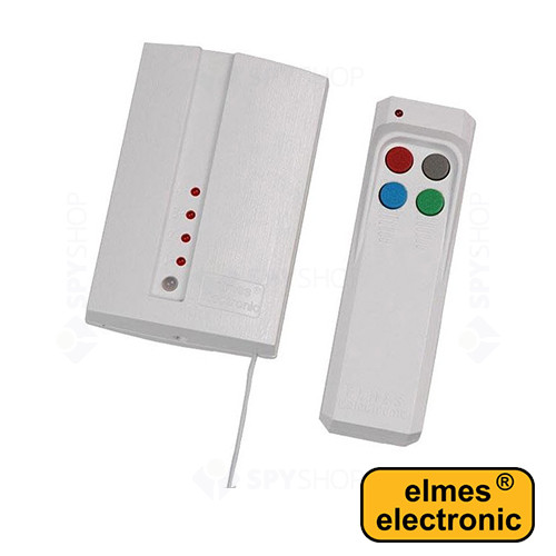 Set 1 receptor cu 4 canale + 1 emitator Elmes CH4H200S-HET