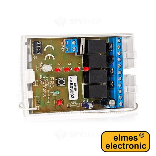 Set 1 receptor cu 4 canale + 1 emitator Elmes CH4HS-HET