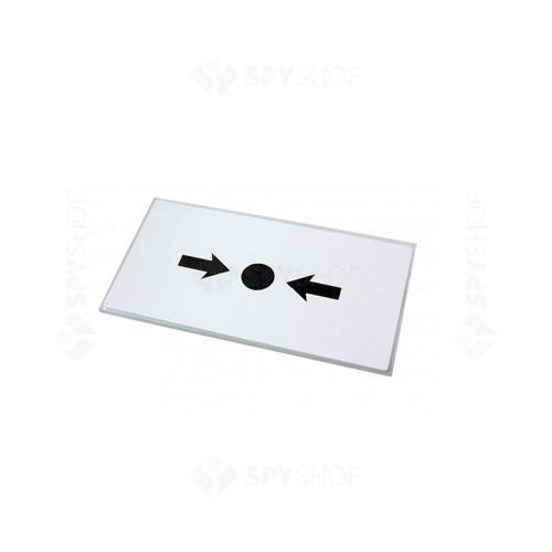 Set 10 geamuri butoane de incendiu KAC KG1/10