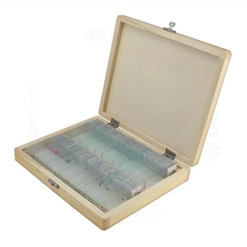 Set 100 preparate pentru microscop Celestron 44412