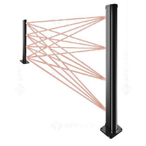 Set bariera fotoelectrica IR activ Optex RN4/75-150