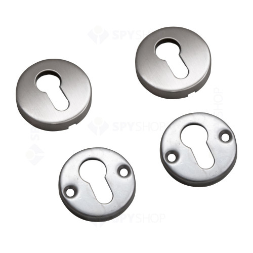Set bochete rotunde pentru mascare cilindru cu profil EURO YH-CR, inox