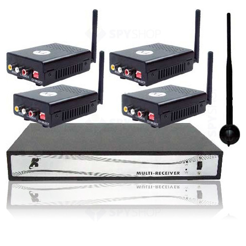 SET COMPLET WIRELESS CU 8 CANALE VIDEO W3206