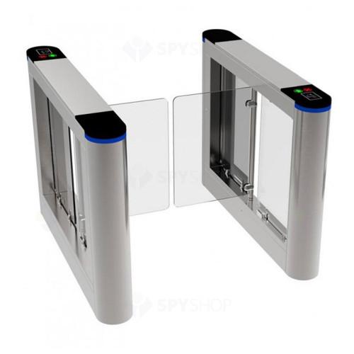 Set de porti batante bridge pentru 1 cale de acces YK-PB306A-1+3, 35 pers/min, 24 Vcc