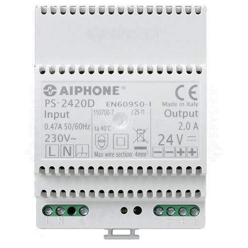 Set interfon cu 4 posturi de interior Aiphone GTA4F