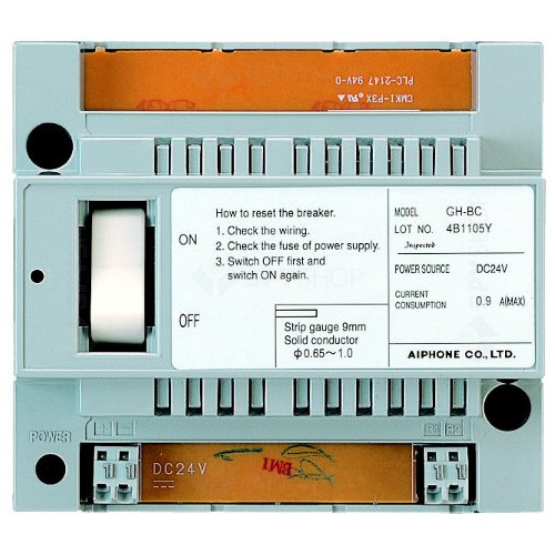 Set interfon cu 6 posturi de interior Aiphone GTA6F