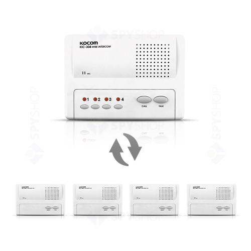 Set interfon de birou Kocom INT-KIC-04