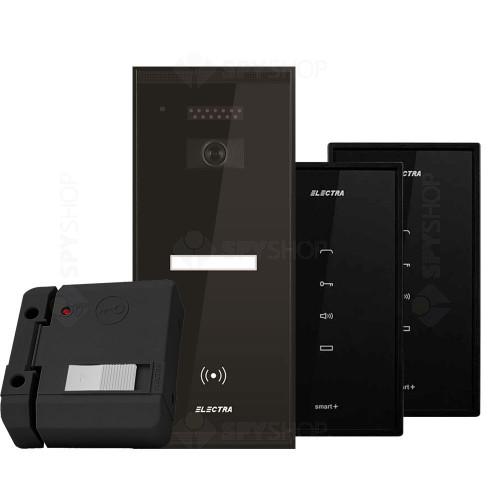 Set interfon Electra Smart INT-ELEC-25, 1 familie, 2 posturi interior, RFID