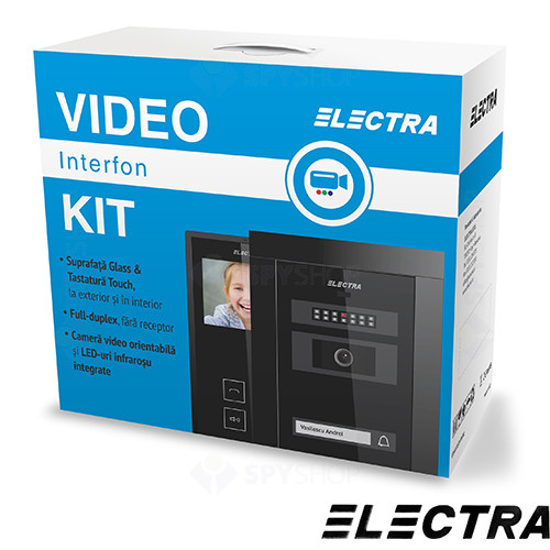 Set videointerfon Electra Smart KIT.VPM.3S0.xxB(W)