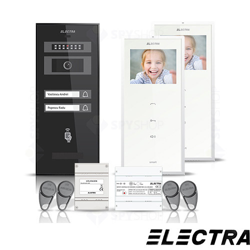 Set videointerfon Electra Smart VID-ELEC-07