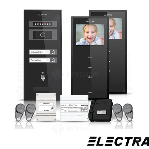 Set videointerfon Electra Smart VID-ELEC-08