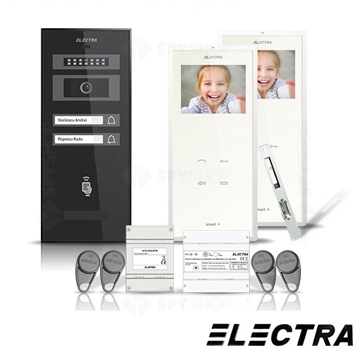 Set videointerfon Electra Smart VID-ELEC-12