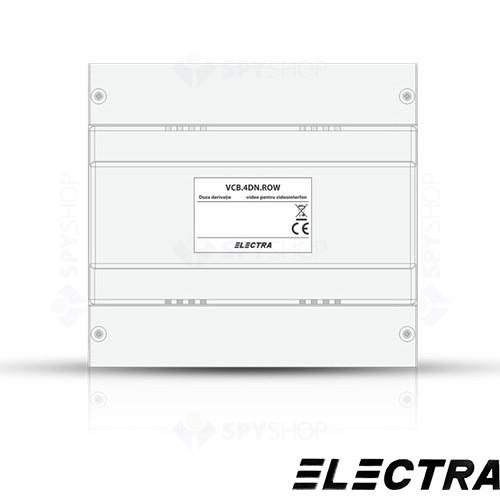 Set videointerfon PENTRU bloc Electra Smart VID-ELEC-26