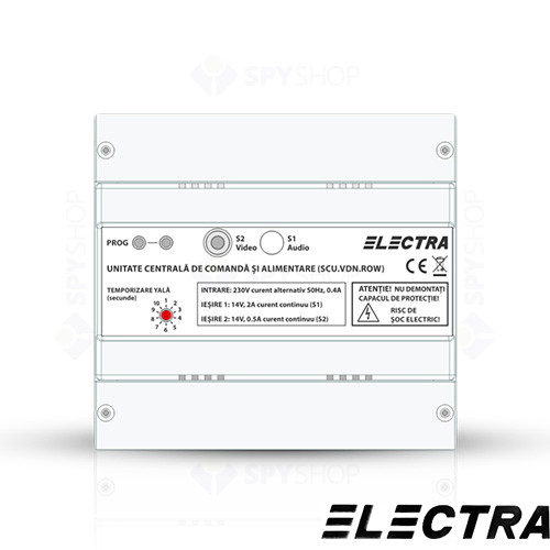 Set videointerfon PENTRU bloc Electra Smart VID-ELEC-28
