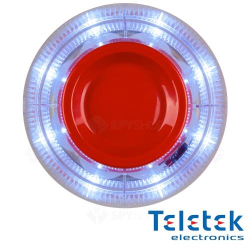 Sirena adresabila de incendiu cu Flash Teletek SensoIRIS WSST