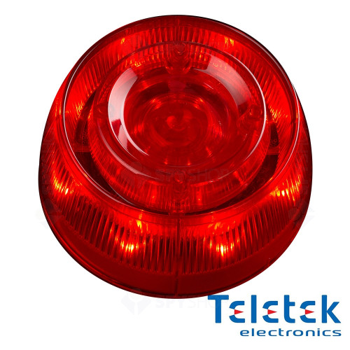 Sirena adresabila de incendiu cu Flash Teletek SensoIRIS WS IS