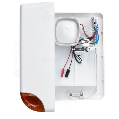 Sirena de exterior cu flash Cerber SA-11, 128 dB, 50 W, IP34