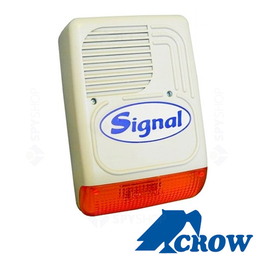 Sirena de exterior cu flash Crow PS 128A