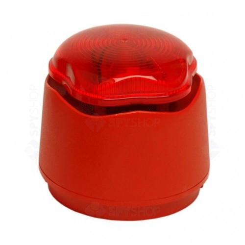 Sirena de incendiu Banshee Excel 958CHL1000 de culoare Rosie si flash rosu