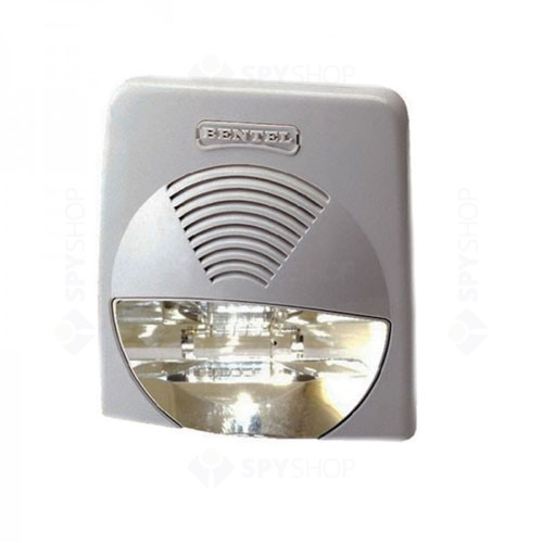 Sirena de interior stroboscopica Bentel WAVE/WS, 104 dB, 2 tonalitati, 60 cd