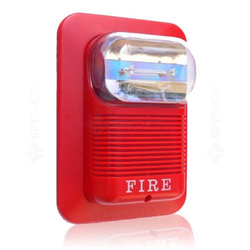 Sirena de incendiu cu flash NB-530/12