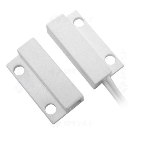 Mini contact magnetic aparent alb MC-08-W