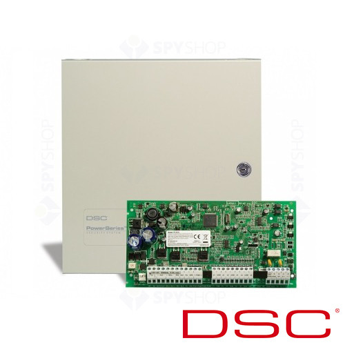 Sistem alarma antiefractie DSC PC 1616-E LCD