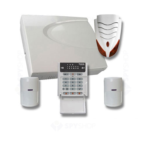 Sistem alarma antiefractie Teletek KIT 3 CA 62 LED EXT